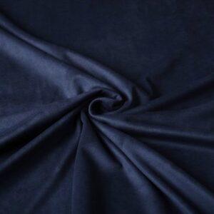 suède donker blauw