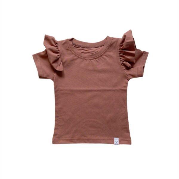 Shirt - RUFFEL klei roze