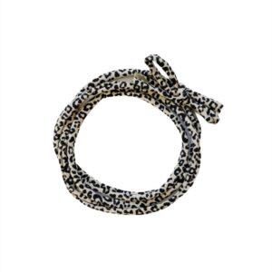 Strikbandjes - Leopard sand