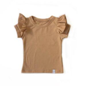 Shirt - RUFFLE camel