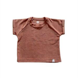shirt - Badstof klei roze