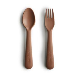 MUSHIE | Fork & spoon, CARAMEL