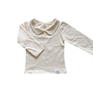Longsleeve - Off white kraagje