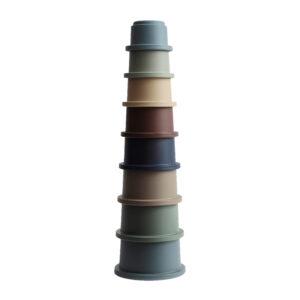 Mushie / Stapeltoren, Stacking cups FORREST