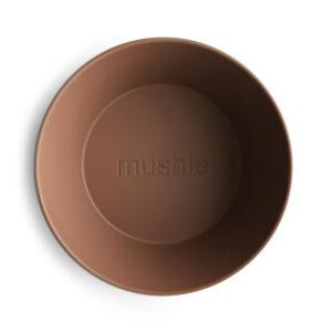MUSHIE   BOWL Round -  CARAMEL(2 stuks)