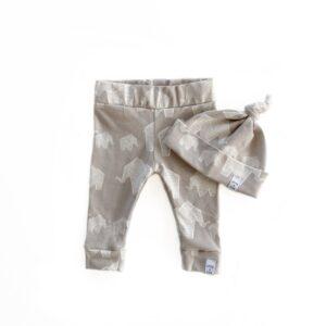 Newborn set - Olifant grey