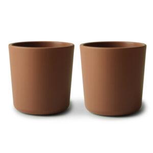 MUSHIE - CUP CARAMEL  (2 stuks)