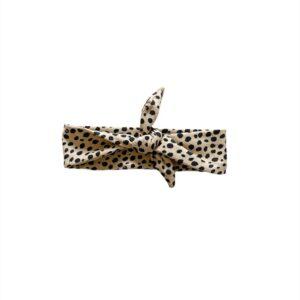 Haarband Breed - Spots beige