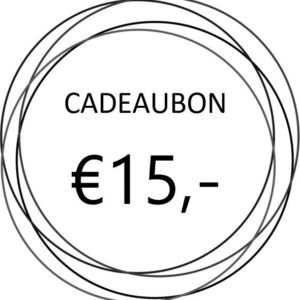 Cadeaubon €15,-