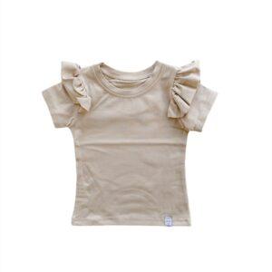 Shirt - RUFFLE Sand
